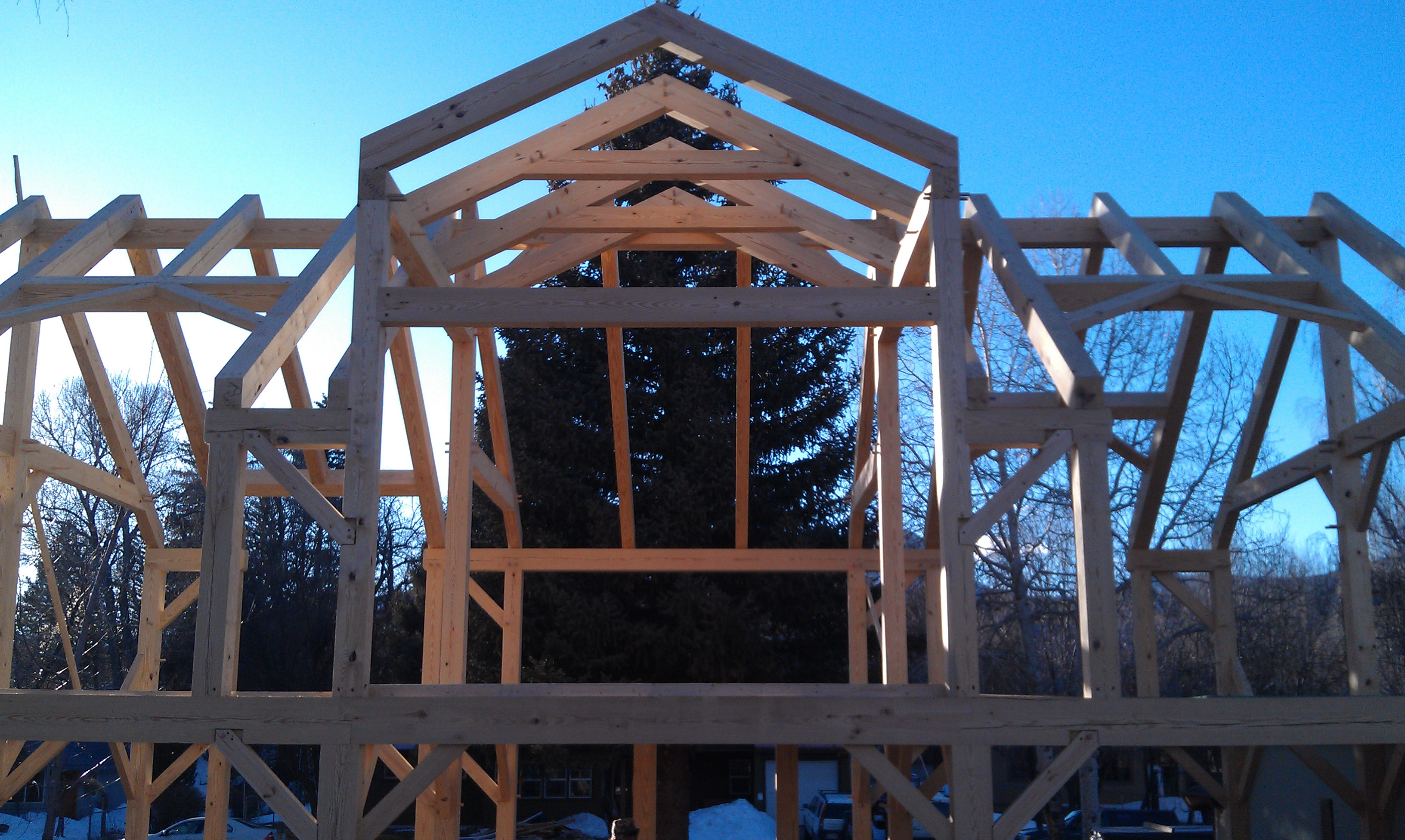 Black Canyon Builders, Durango, CO timber frame