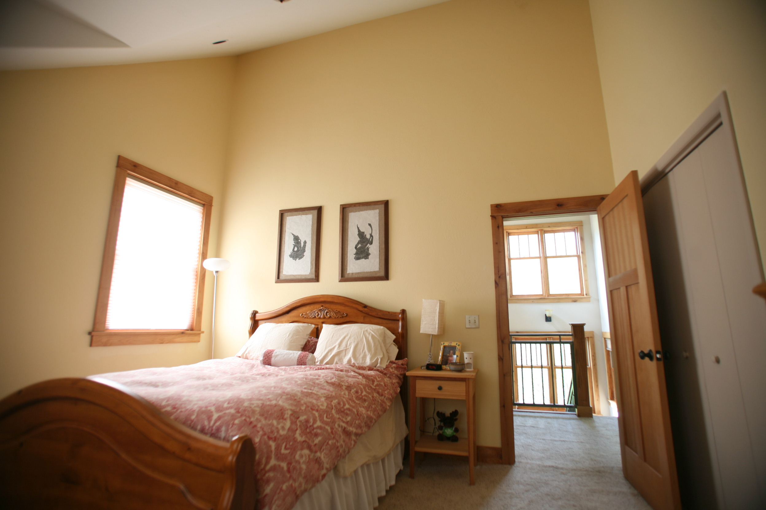 Black Canyon Builders, Durango, CO custom, energy efficient home, guest bedroom