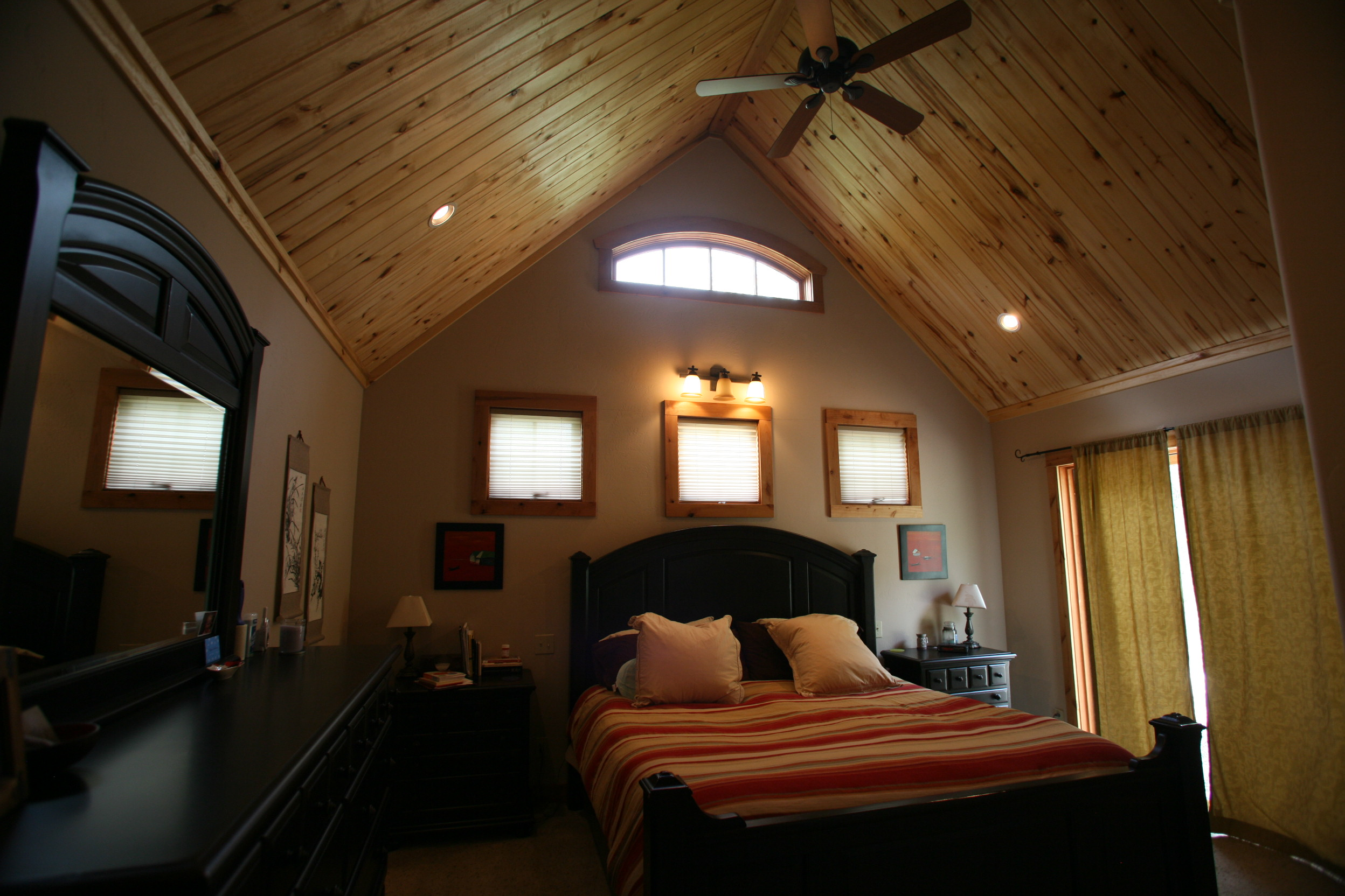Black Canyon Builders, Durango, CO custom, energy efficient home, bedroom