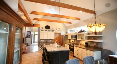 Black Canyon Builders, Durango, CO Significant Remodel Historic Home, kitchen and dining area